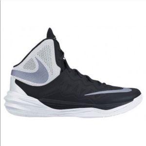 Nike Womens Prime Hype DF II Black & White Size 10